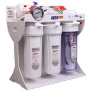 دستگاه تصفیه آب خانگی آکواپرو مدل RO6-FIBERGLASS