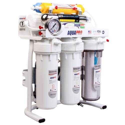 تصفیه آب خانگی آکوا پرو مدل RO8-ORP-UV